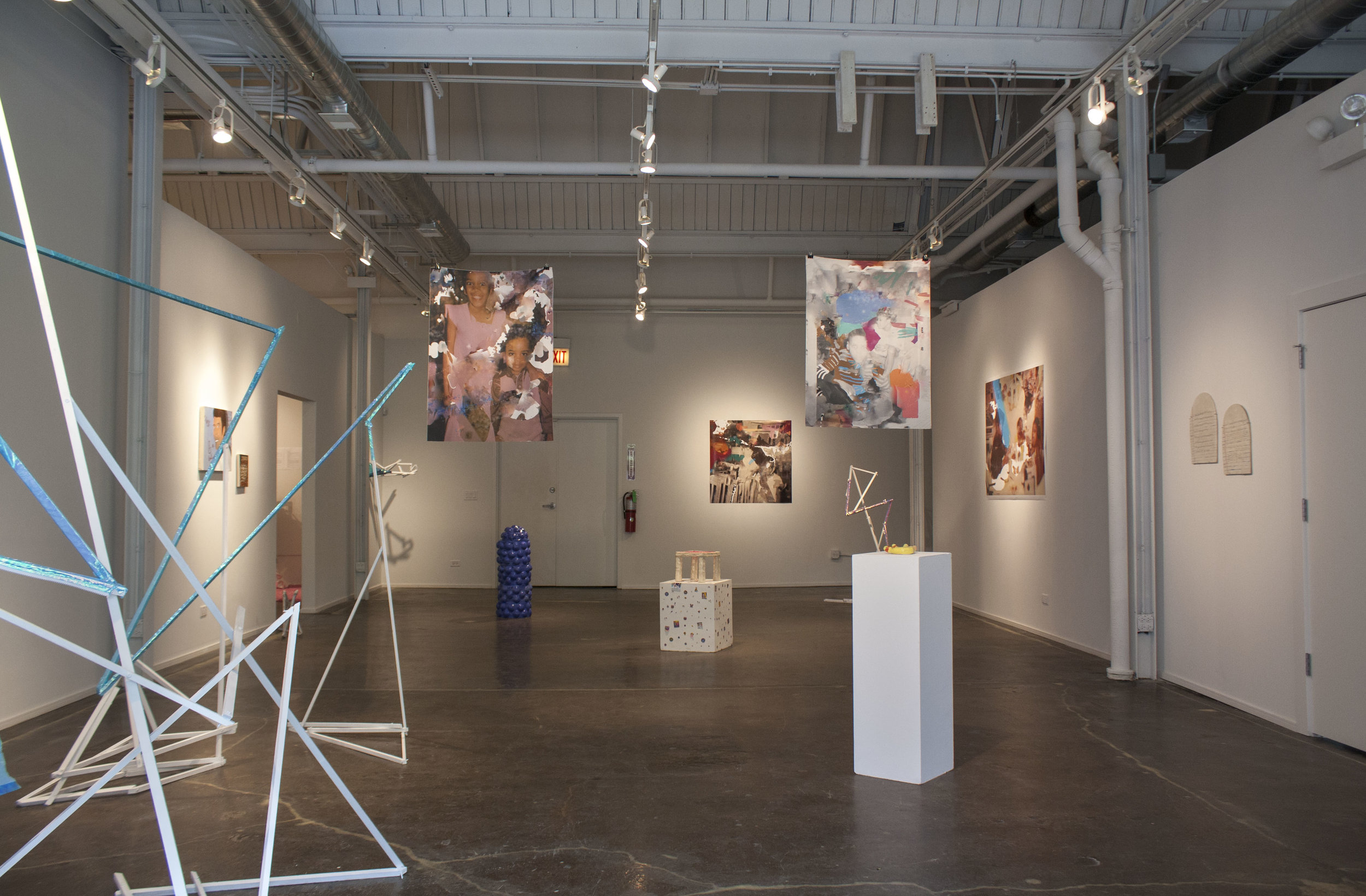 Somewhere Behind Us  (2018), an exhibition with Chicago Artists Coalition's HATCH Projects also featuring the work of Andrea Coleman and Erin Smego and curated by Jamillah Hinson.