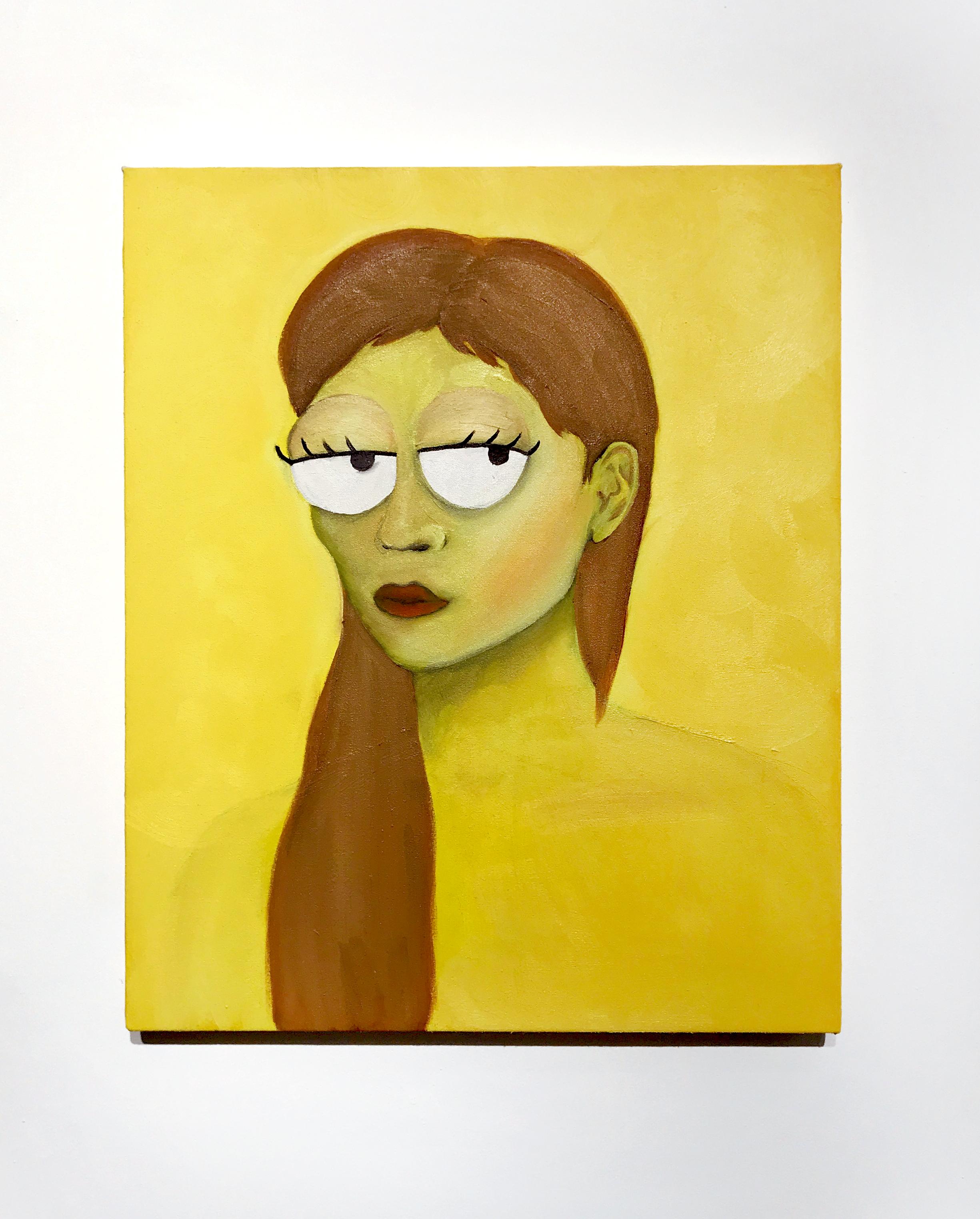 Nora Simpson, Oil on canvas, 2019