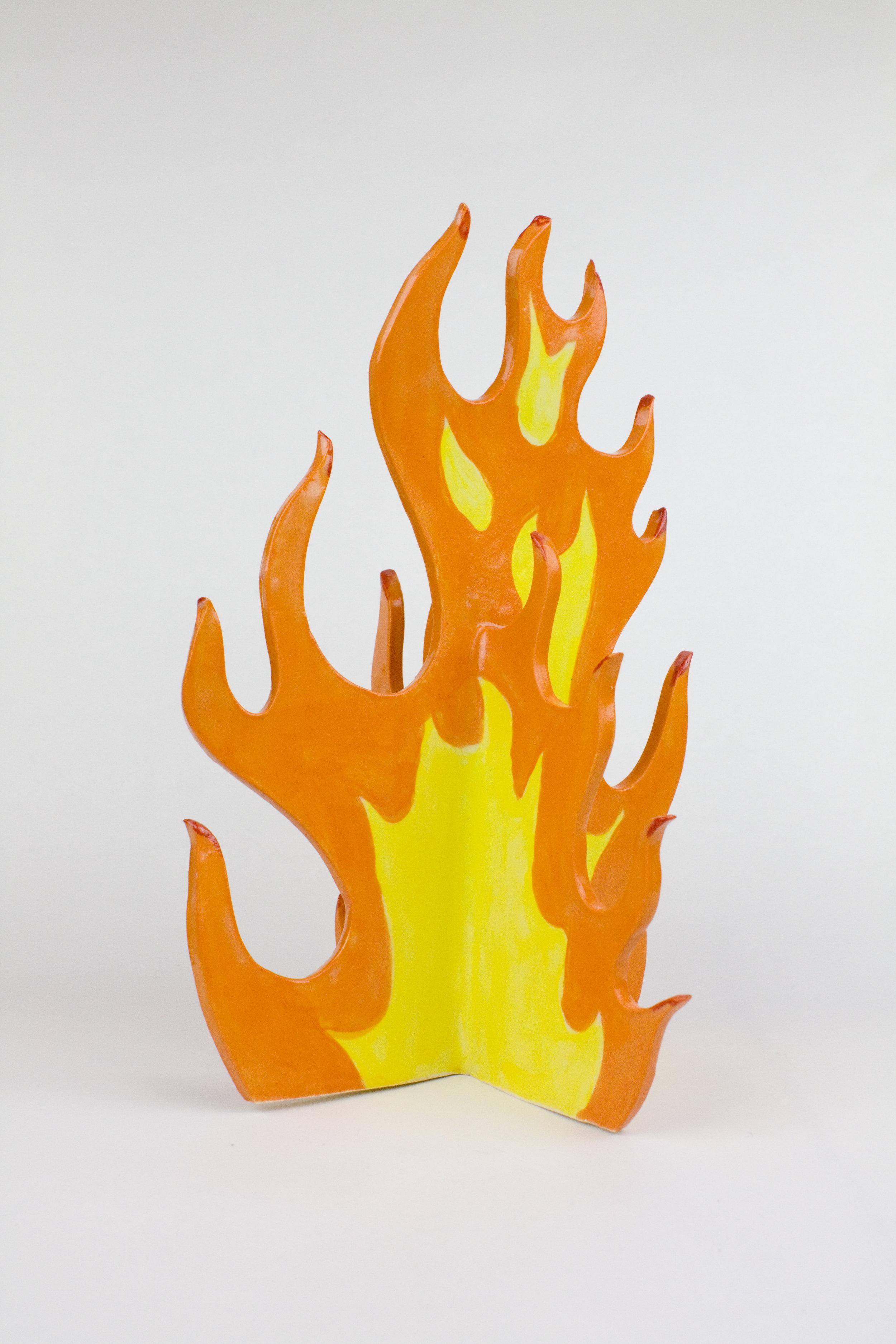 big flame