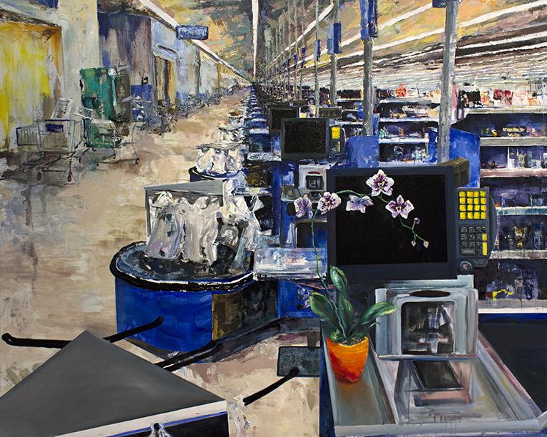 Customer Servants Painting