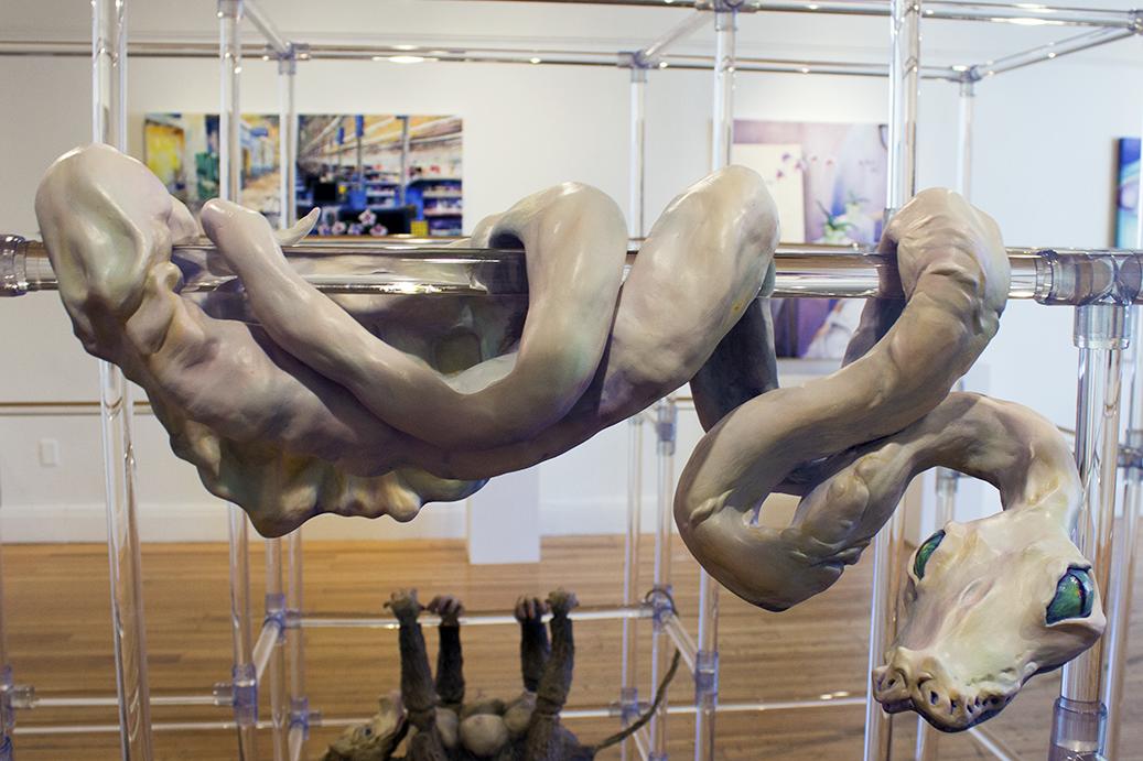 Leviathan Ceramic Sculpture