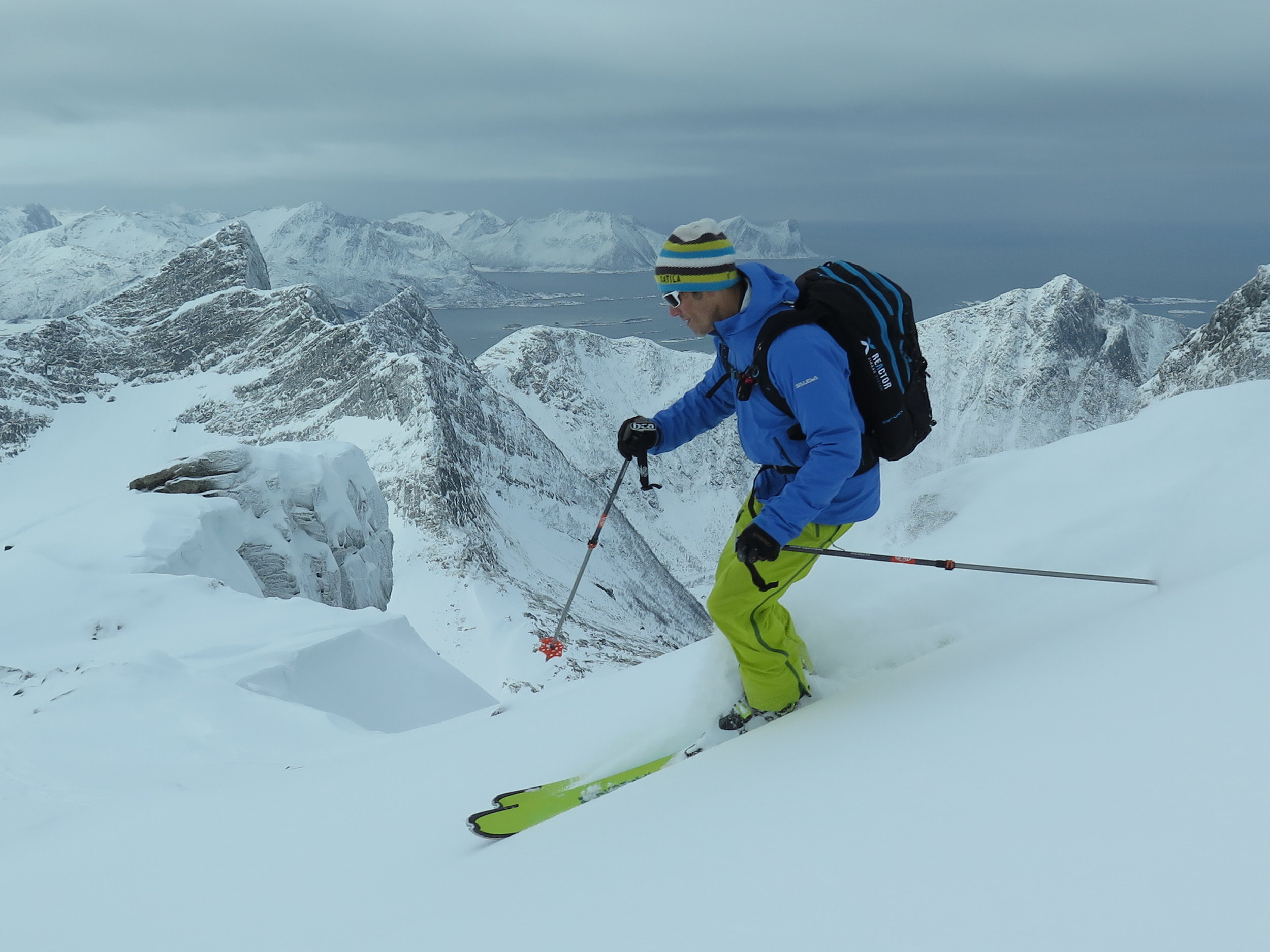 Backcountry Skiing Senja