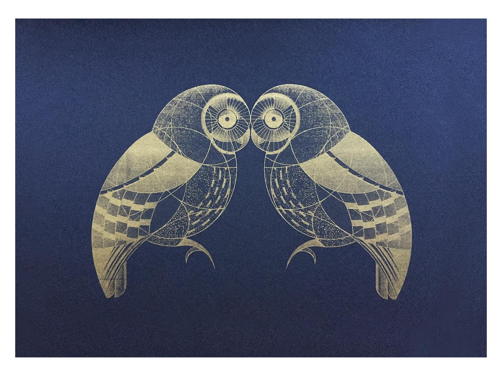 oa's owls (gold)
