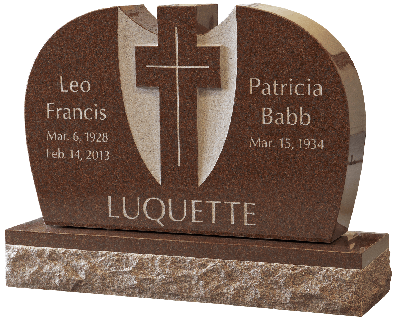 Luquette headstone, Headstone - Magnolia Cemetery, Beaumont, TX