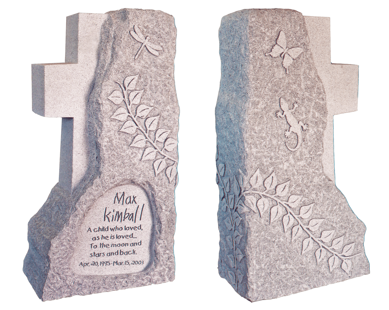 Kimball headstone, Magnolia Cemetery, Beaumont, TX