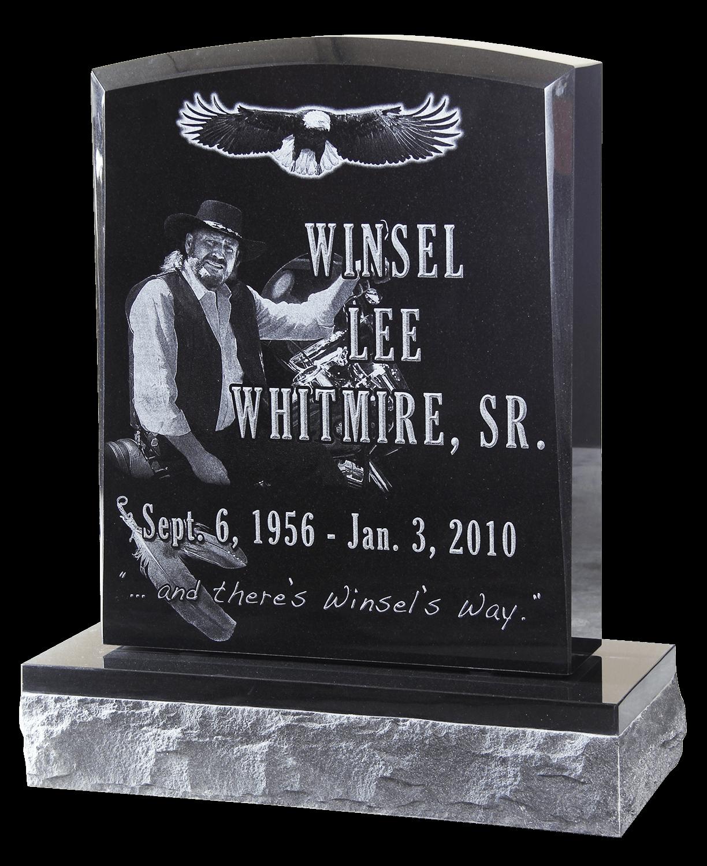 headstone, Morse Cemetery, Buna, TX