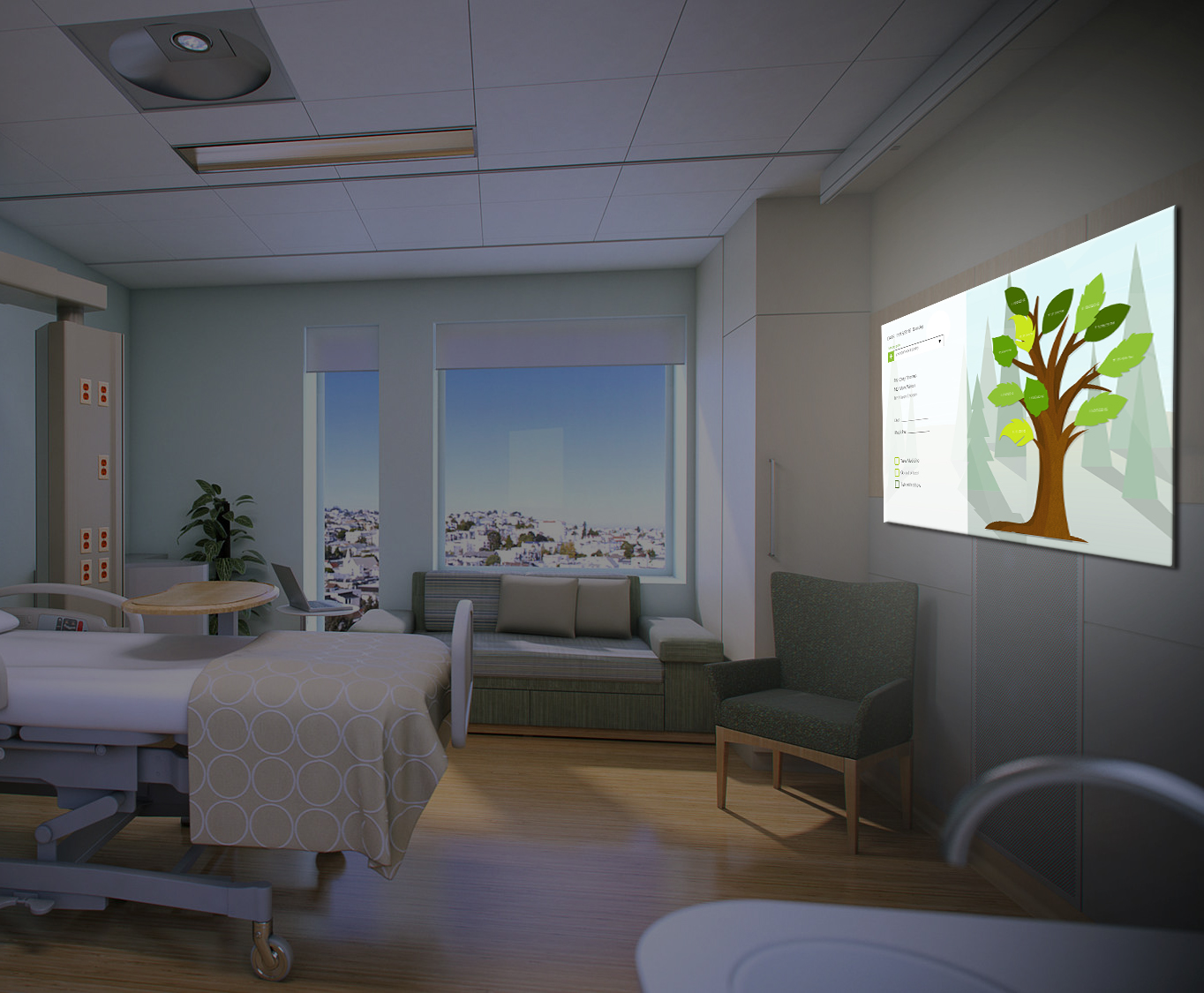 Watch Me Grow   An interactive achievement-tracking visualization system for better patient and family engagement throughout recovery from a stay in an intensive care unit.