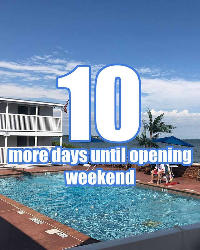 Only 10 days away from enjoying the weekend at the Beach Club!!! Can't wait to see everyone there #countdowntosummer