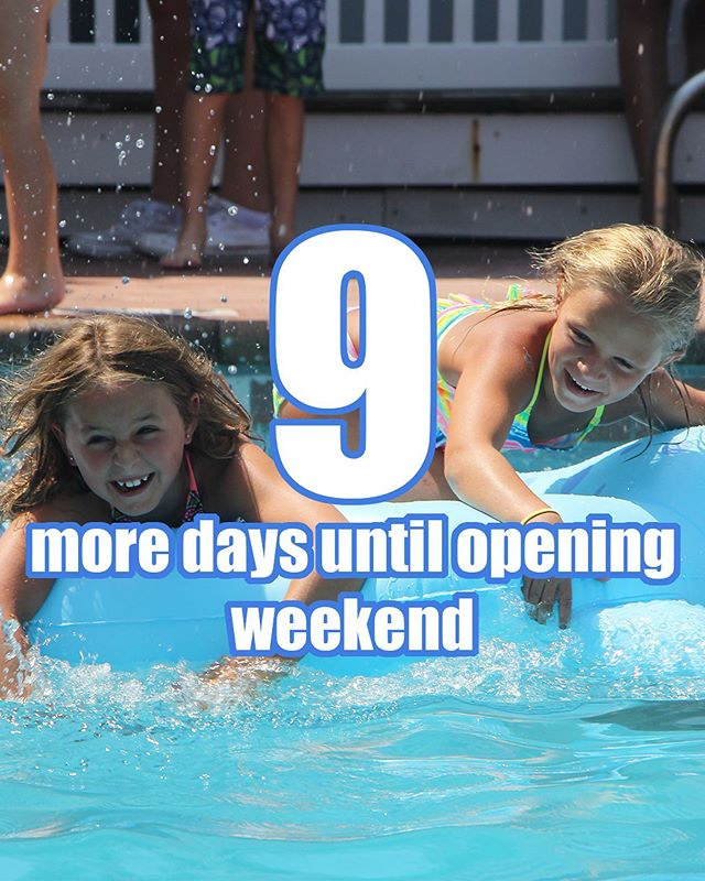 9 more days until we all get to kick start our summer at the club! #countdowntosummer #spbc #southamptonpeconicbeachclub