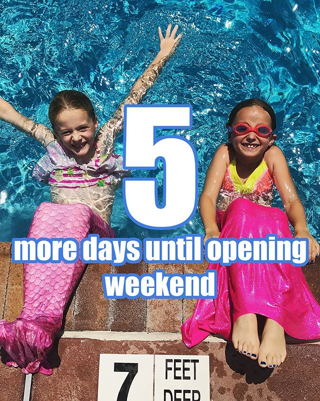 The countdown continues and we excited to see everyone this weekend!!! #countdowntosummer