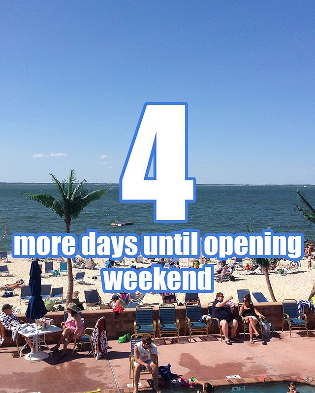 Can't wait to soak up the sun this weekend with all our members! #countdowntosummer
