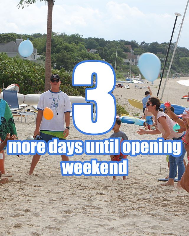 Only a few more days until we are open! 🥳#countdowntosummer
