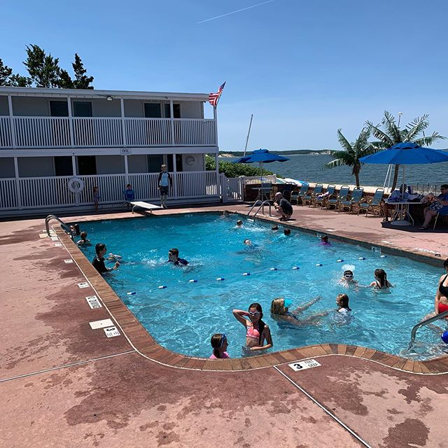 Its a beautiful day today at the club. Make sure to sign up for Sailing, Tennis and Swimming Lessons! Classes begin July 1st!