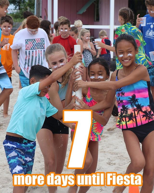 7 more days!!! Make sure to sign up for Fiesta!
