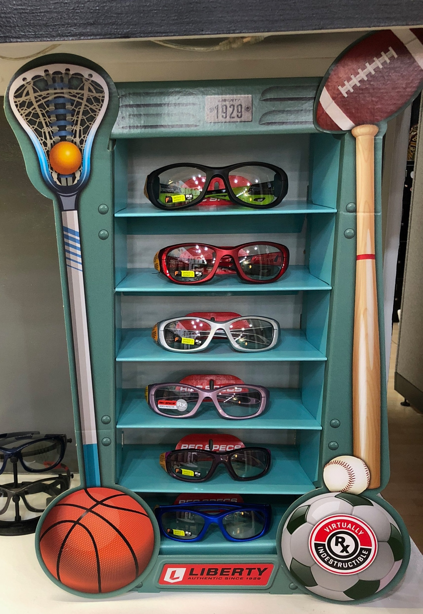 It's Sports TimeGet your sport protective eyewear. We have the coolest new styles. -