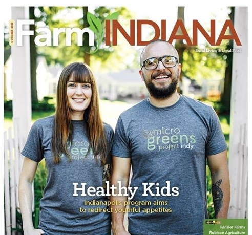 "FARM INDIANA:   ""CHEAP BUT HEALTHY"""