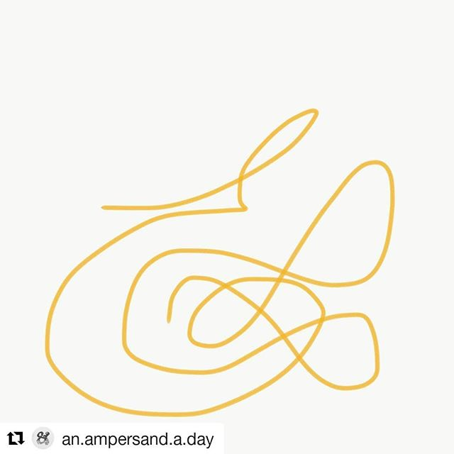 Sometimes things aren't straight forward. Sometimes our work takes us in circles. The creative process, in its true form, isn't always easy. But we keep at it. We work smarter everyday. And we never give up. Sometimes we're the cool, sleek, bold ampersand and sometimes we're this squiggly one. . . . . . #femalefounders #startuplife #learnbydoing #teamwork #livingthedream #entrepreneurship #designthinking #creativeprocess #cantstopwontstop