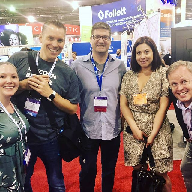 It was so great to reconnect with friends and collaborators at #ISTE19 this year. Can't wait for Anaheim 2020! . . . . . #edtechchat #tpt #edtech