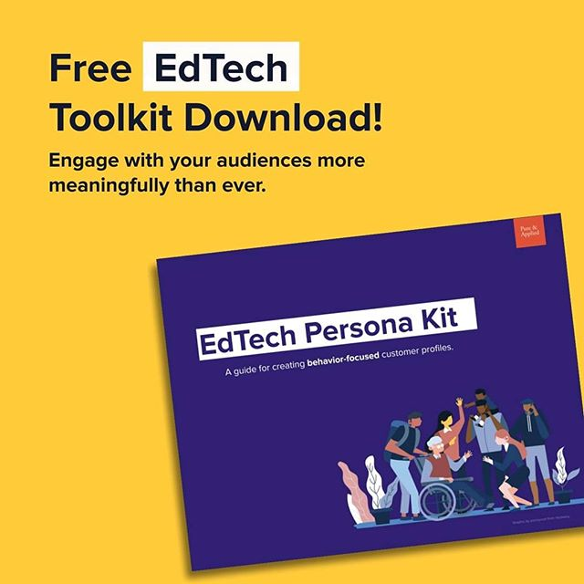 We just launched an EdTech Persona Kit for the modern marketer tired of caricatures, stereotypes and other useless information in their customer research. Our approach is to focus on the data that matters - behavior and context. DOWNLOAD link in bio. . . . . . . . . #edtech #edtechchat #femalefounders #sxswedu #SEDTA #startup #edtechatartup #marketing #edtechmarketing #tpt #teachersofinstagram