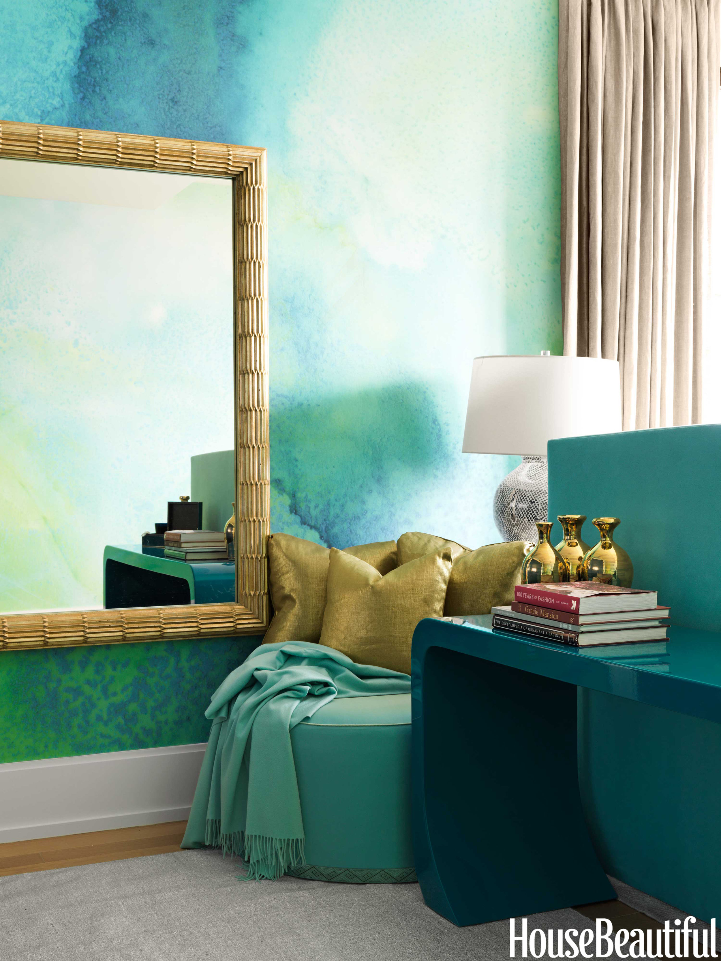 CARRIBBEAN BLUES Designer: Drake Design Associates