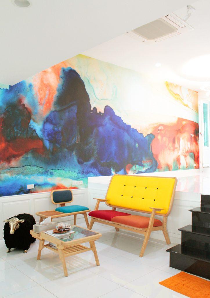 THE ORIGINAL WATERCOLOR PinPina Wallpaper Showroom Thailand