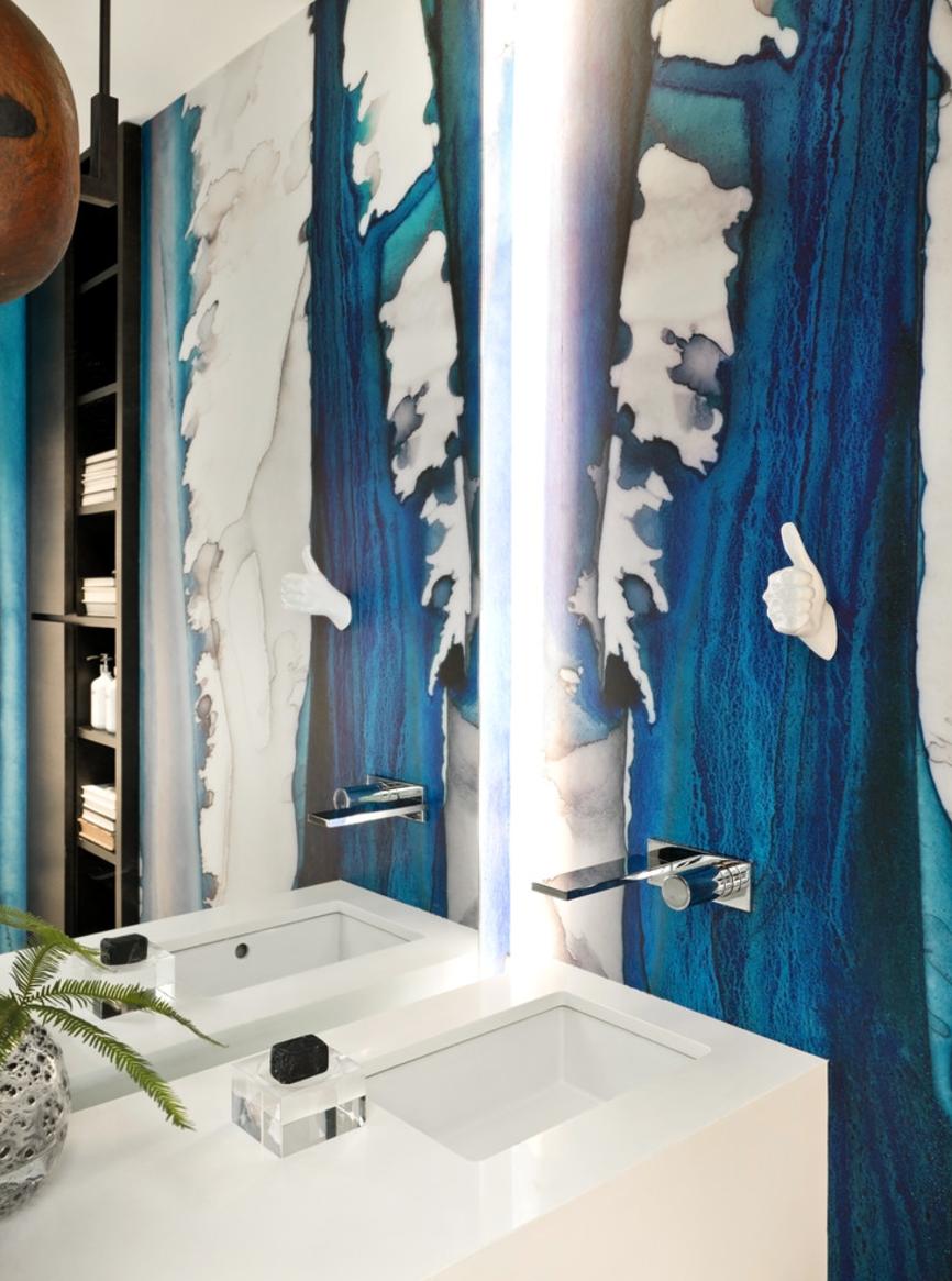 NAVY & BLACK DRIPS Designer: PROjECT Interiors