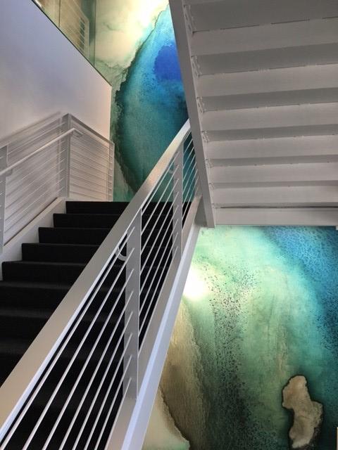 UNDERWATER BLUES Designer: Gensler