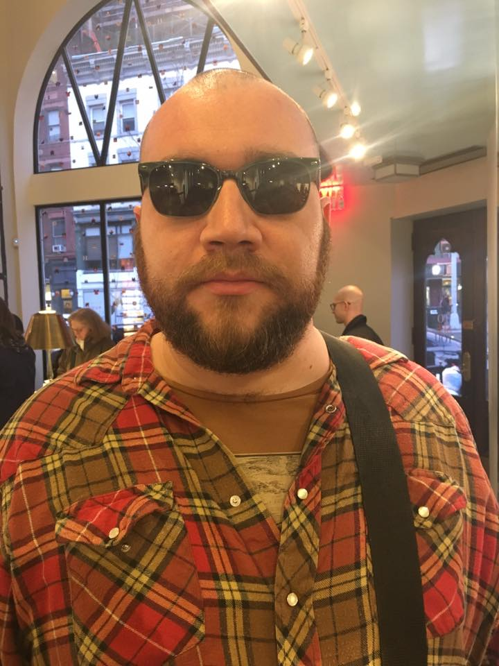 Ian ChantCo-host - Ian is a lovely human man with very cool sunglasses (evidence to the left). When he's not podcasting, Ian makes his living as a science writer, editor, and communications professional.He is a very good friend, except for when you sit next to him at comedy shows, and his laugh is way louder than everyone else's, and people stare at you.If you're interested in hearing more of Ian's jolly baritone, check out Menagerie, Ian's monthly podcast about animals, their stories, and how we interact with them.