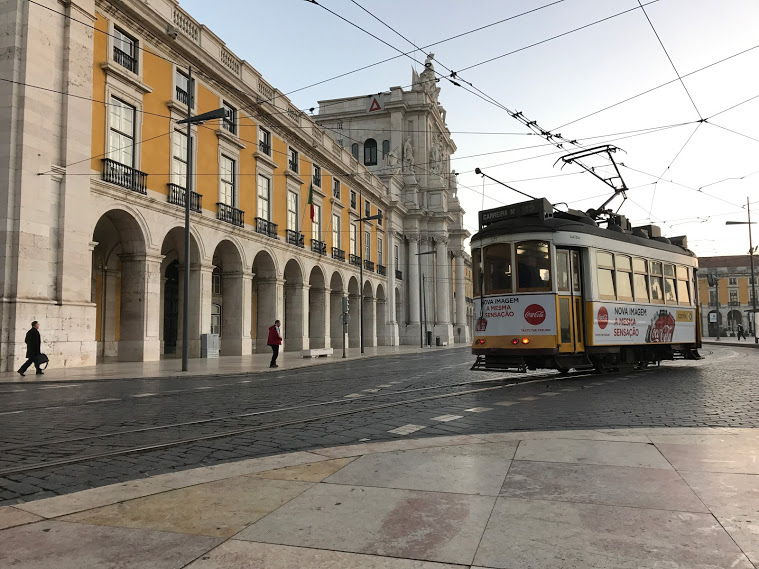 The trams, the colored houses, the hills, the bridge!!! Such bay area vibes! The warmth of the city of Lisbon brilliantly matches the warmth and openness of its people. I feel so lucky to have started my adventure here.