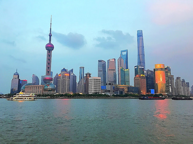 View from The Bund!