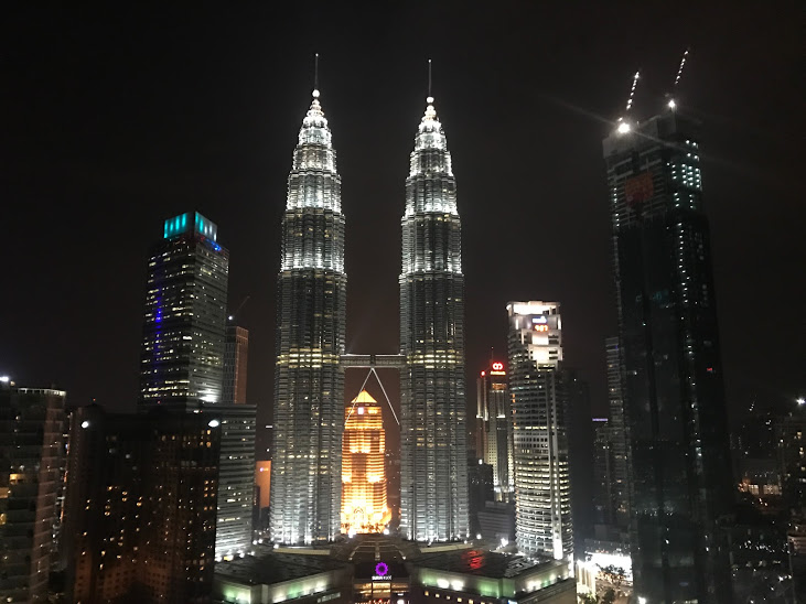 Petronas Towers from Sky Bar