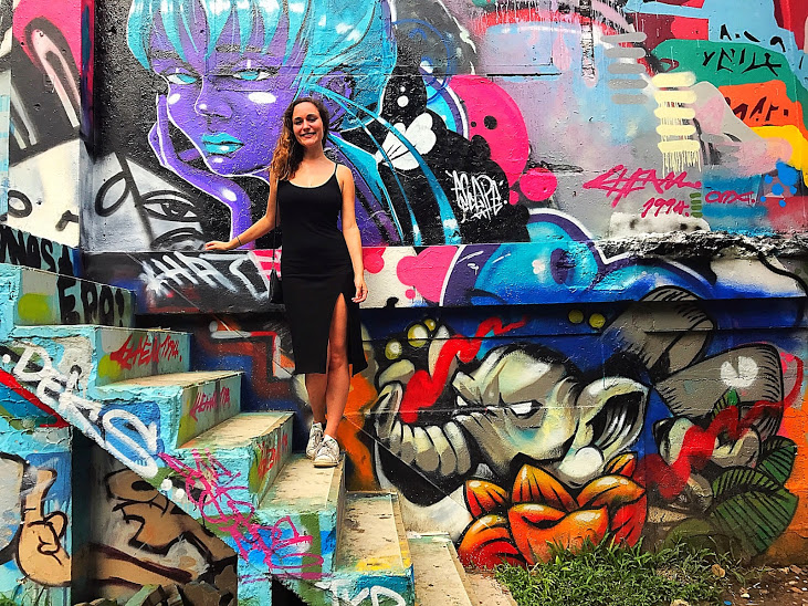 Found the most amazing street art park in the Ratchathewi District in Bangkok.
