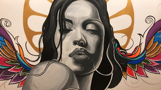 Wall art in Morena <3