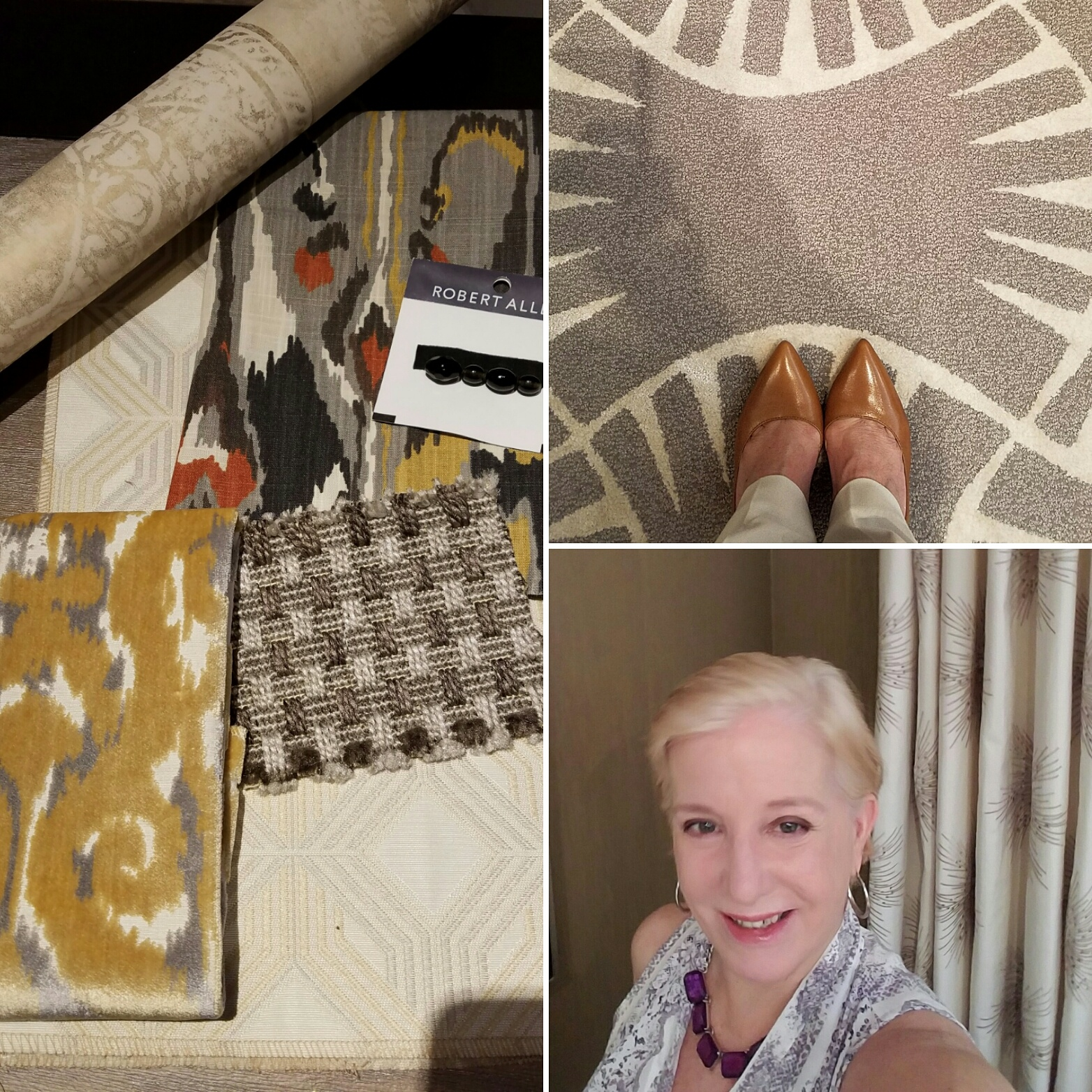 Barbara Segal Interior Design Scheme