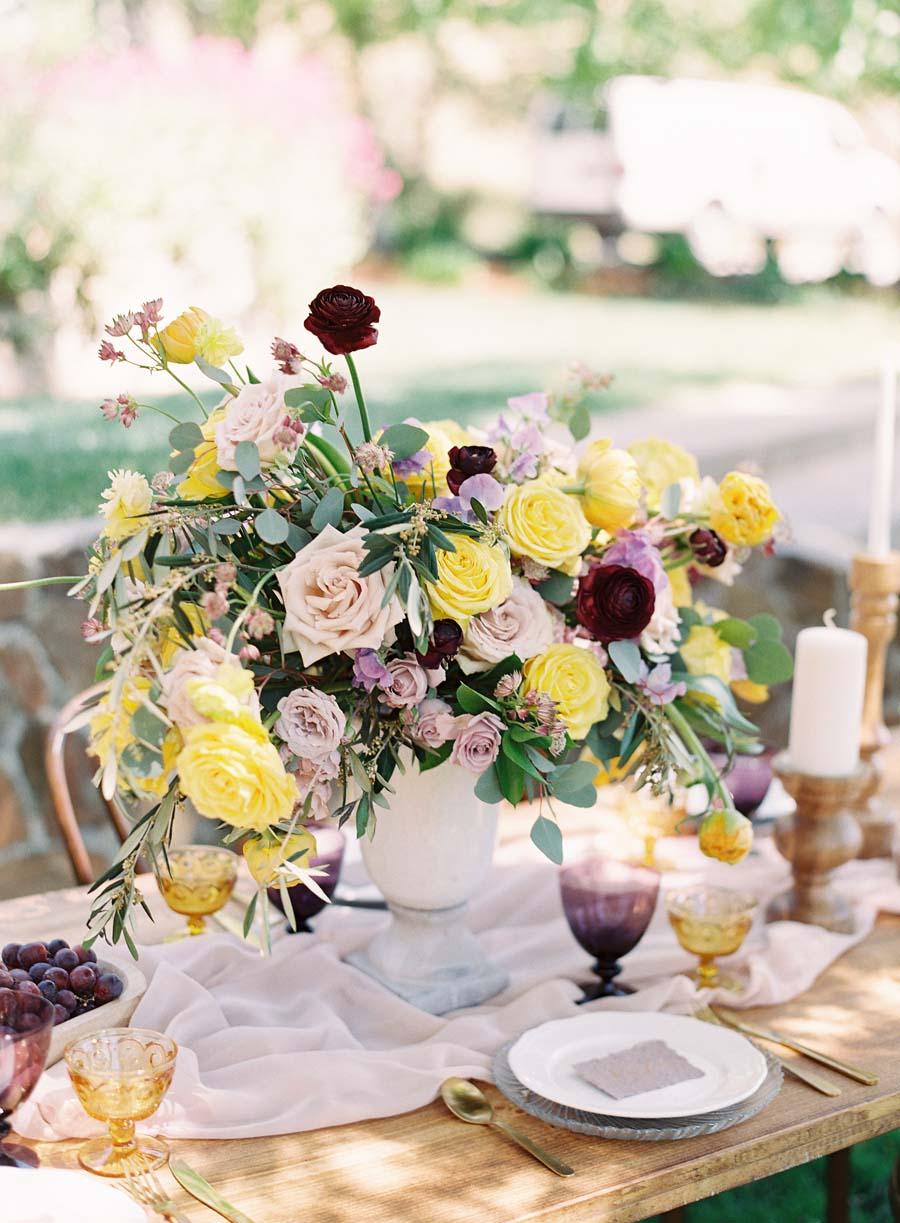 lcfloraldesign.com | LC Floral Design | Wedding Flower Designer Servicing San Francisco and the Bay Area in Northern California | Nella Terra Weddings | Stephanie Gan Photography