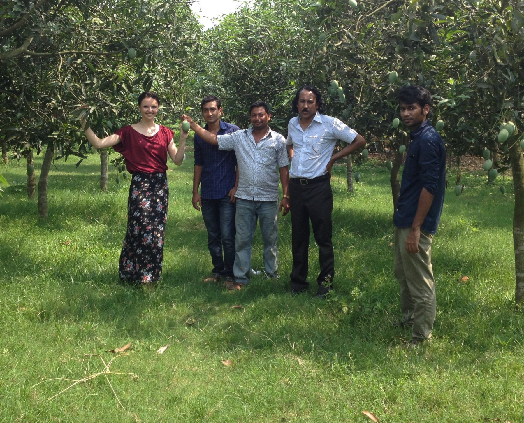 Green mango social business in Dhaka
