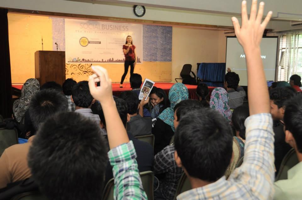 Social Business Workshop in Dhaka