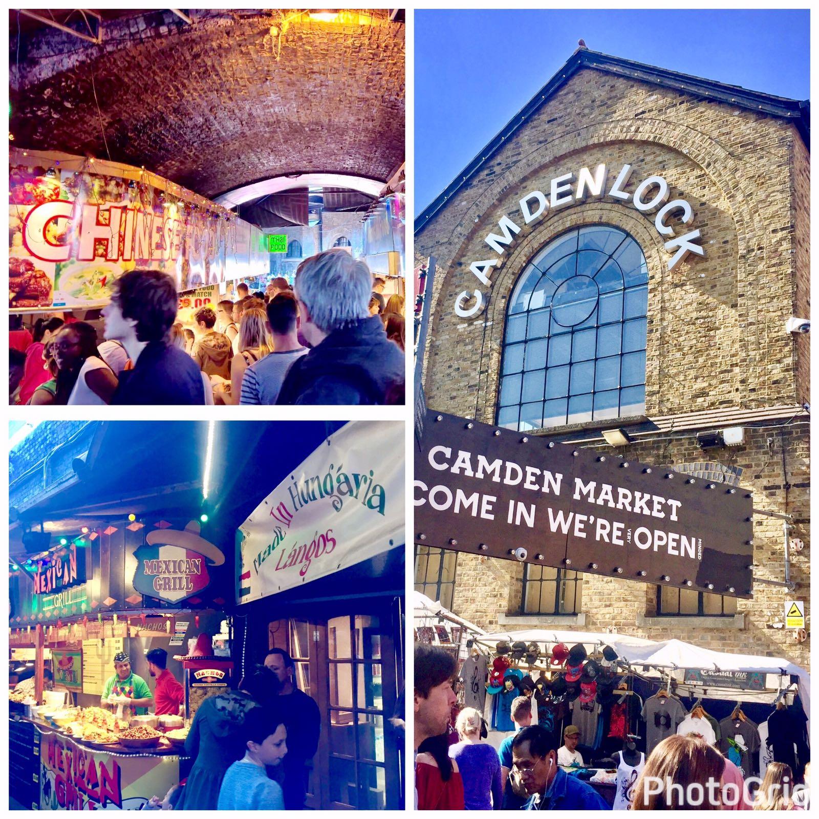 Camden Lock Market- Camden, London