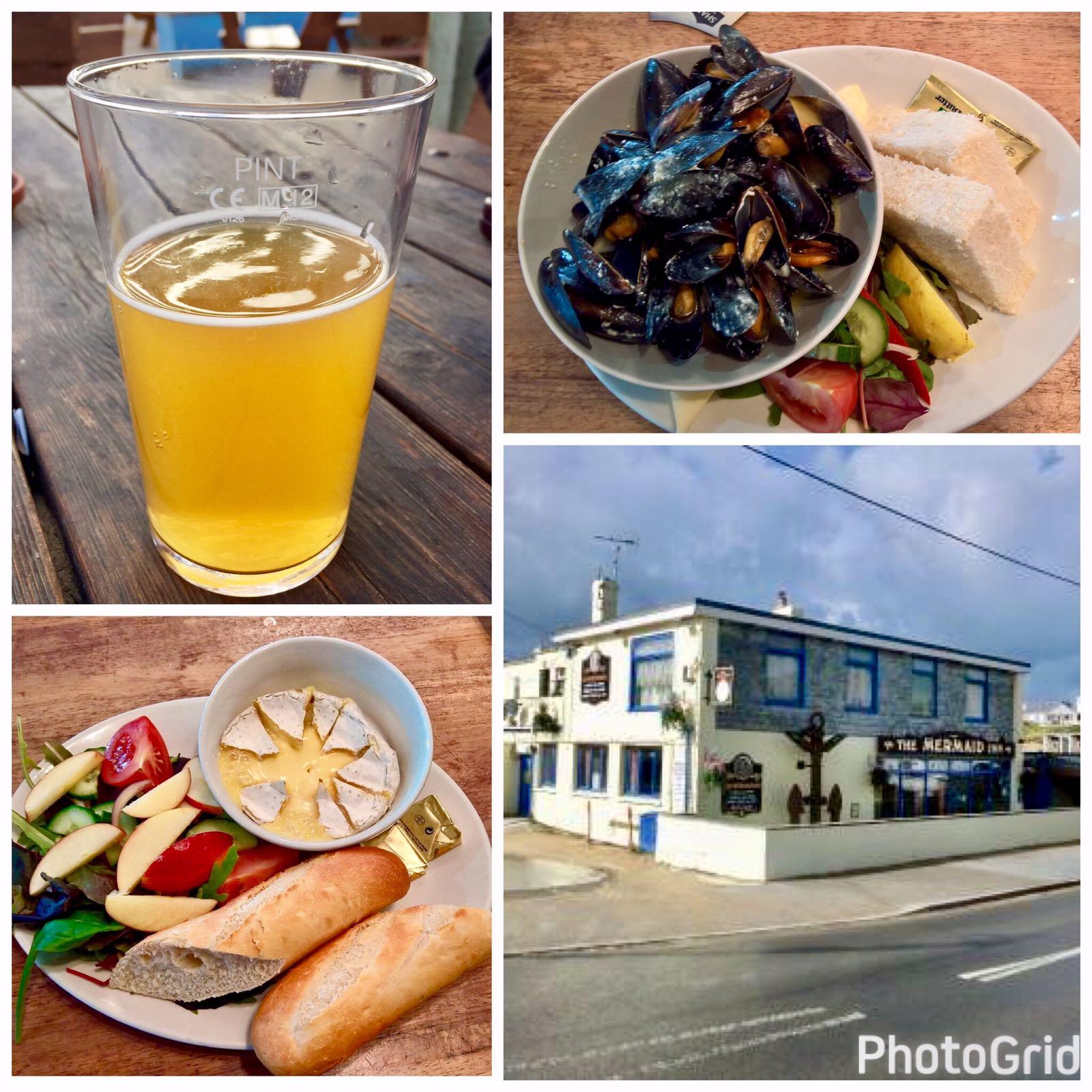 English Pub- The Mermaid Inn, Porth, Cornwall