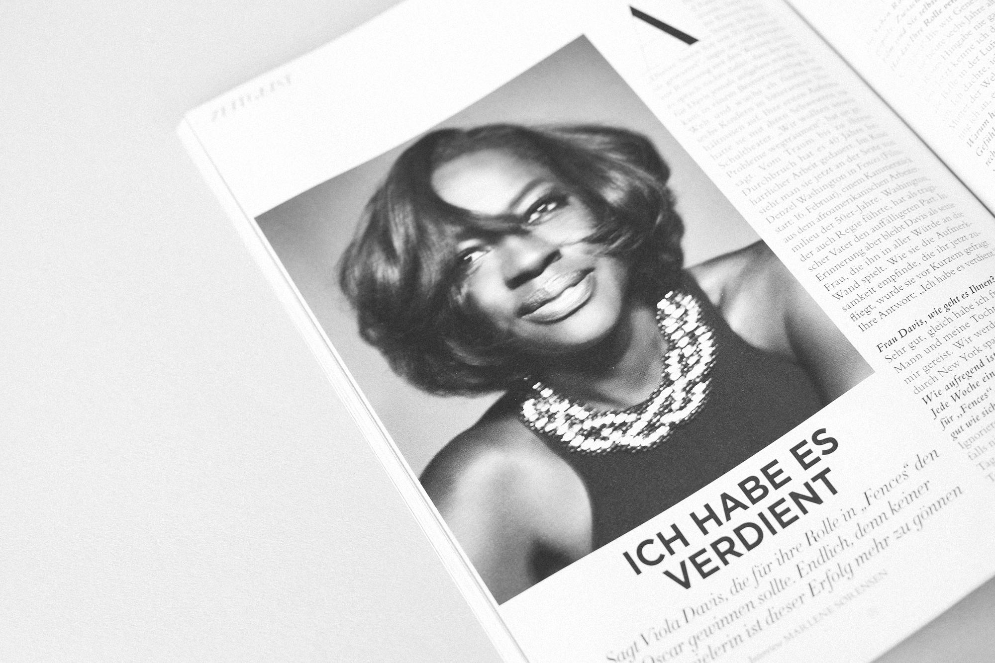 """""""Wir entscheiden uns viel zu oft dafür, abzunehmen, süß zu sein, uns jünger operieren zu lassen."""" - INTERVIEWMit Viola Davis, erschienen in Harper's Bazaar"""