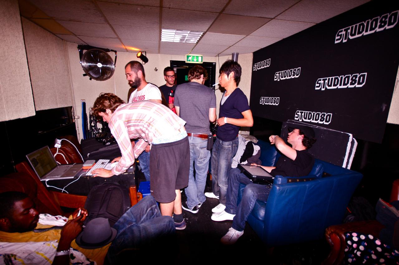 PROMO Shoot, Backstage Studio 80. 2 AM..jpg