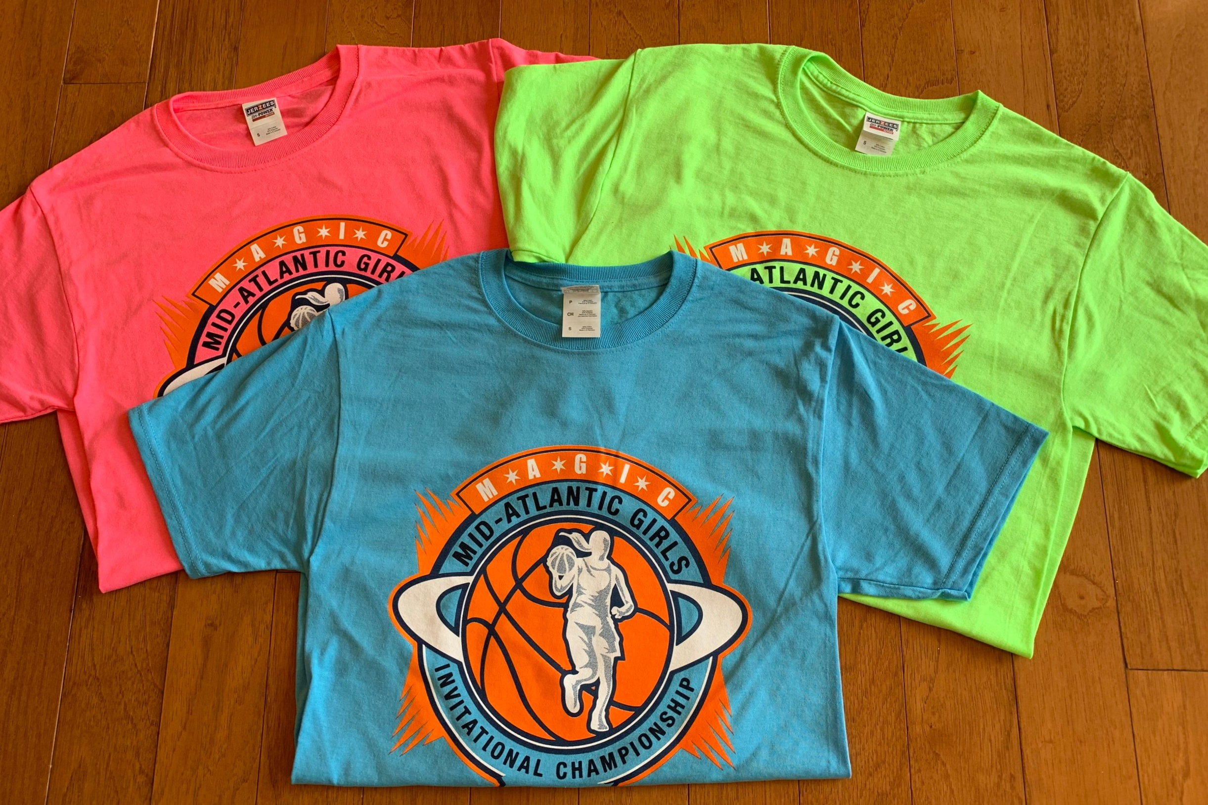 Be sure to get your MAGIC Tournament T-shirts at all multi court facilities!