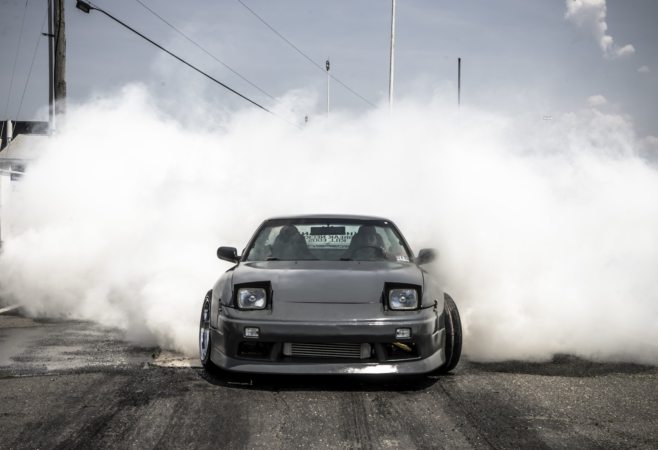 BURNOUT CONTEST