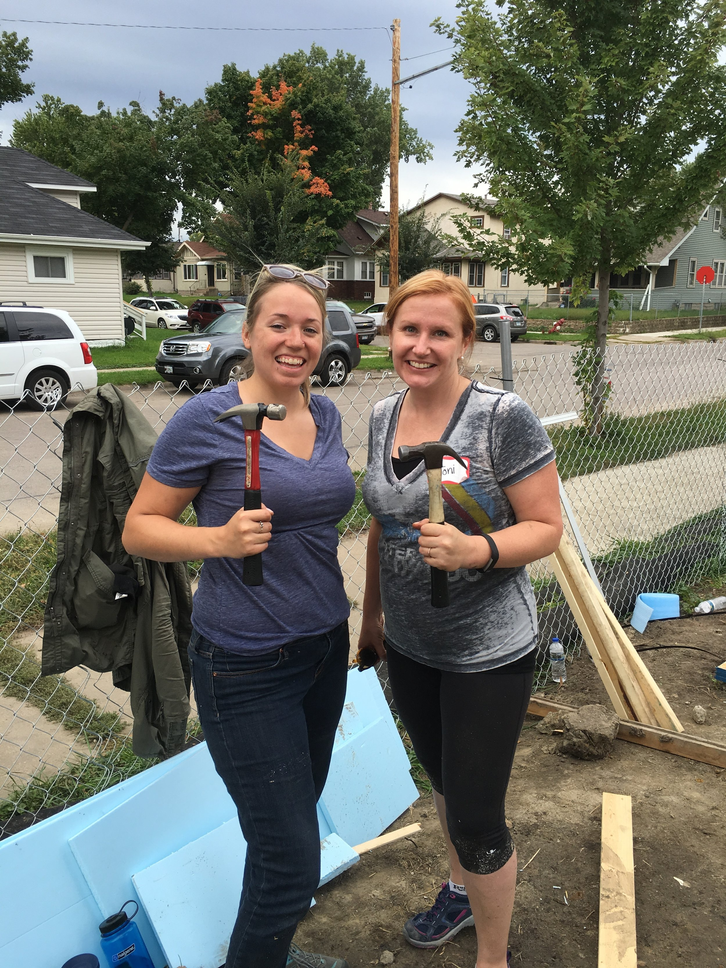 Building a Habitat for Humanity house with the Edina Foundation