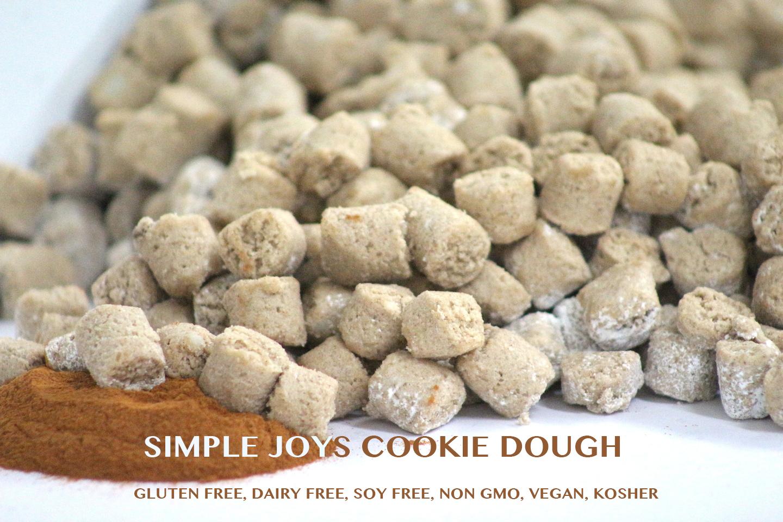Simple Joy's , InclusiLife, Inc., Snicker Doodle gluten-free Cookie Dough