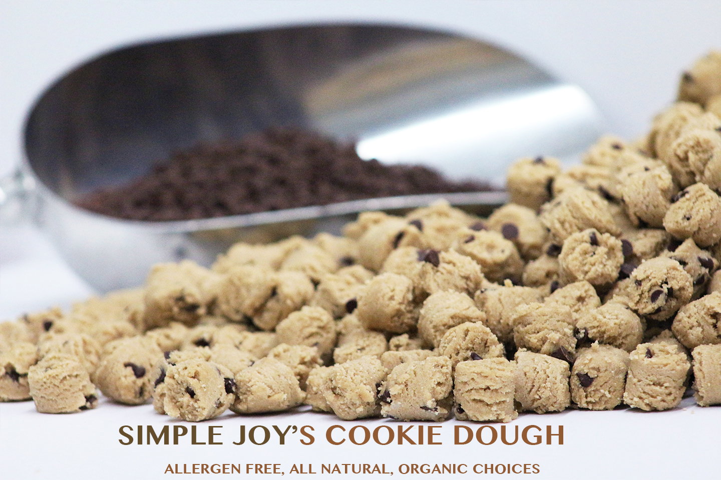 SImple Joy's Gluten-Free Cookie Dough, InclusiLife, Inc. Marcia Pollard
