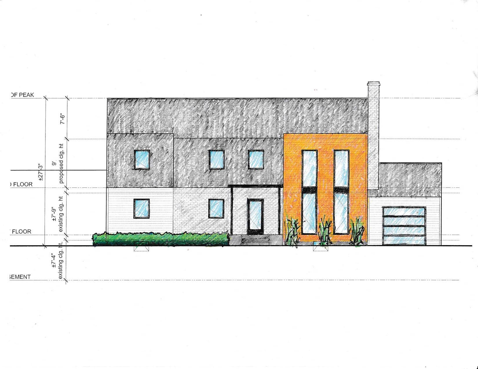 Front Elevation Concept