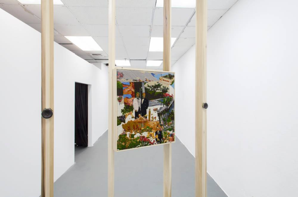 Installation view of Bethesda: Allan  (2014-2016)