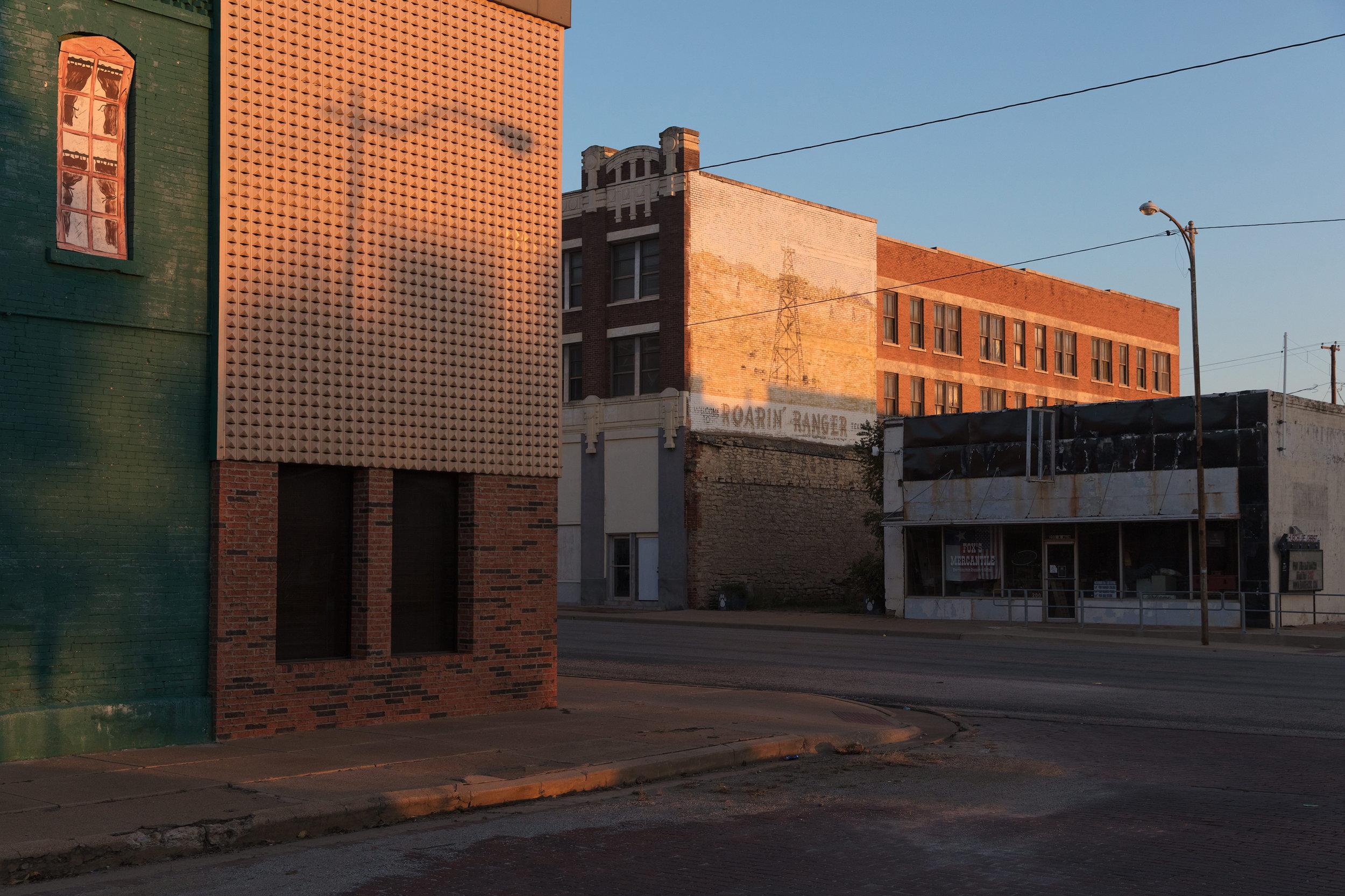 Rusk Street & Main Street - Ranger, Texas (2017)