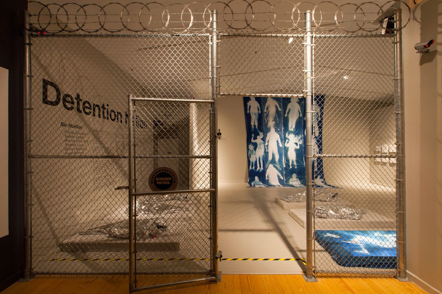 "Sin Huellas (Without Fingerprints), ""Detention Nation"", 2014, Installation at STATION museum"